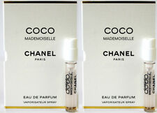 CHANEL COCO MADEMOISELLE 2ML X 2 = 4ML 0.12OZ PURSE SPRAY SAMPLE MINI VIAL LOT