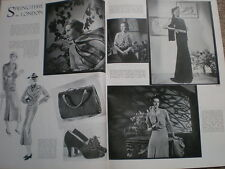 Photo article Spring Time fashion in London 1935