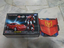 Transformers Masterpiece MP-26 Road Rage Corvette with Coin Takara MISB