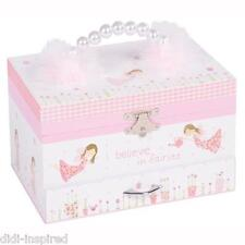 Fairy Blossom Musical Jewellery Box 4 Girls, Children, Kids High Quality