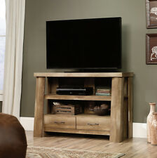 Sauder Woodworking 416971 Boone Mountain Anywhere Console TV Stand Craftsman Oak
