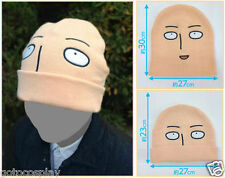 Anime One Punch Man hero Saitama Cosplay japan winter beanie Hat Cap Headgear