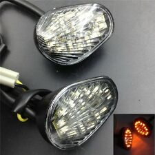 Turn signal lights Fit YZFR6 2003 2004 2005 R6S 2006 2007 Clear Euro LED Flush M