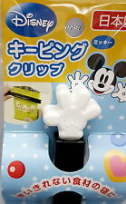 Disney Mickey Mouse Food Bag Clip Japan Made  , h#2