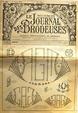 Le Journal des Brodeuses n°839 - 1965 - Ecussons pour Nappes - Serviettes