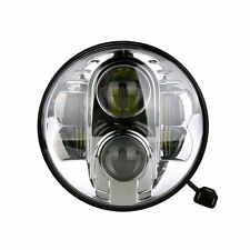 "LED 7"" Fanali Jeep Wrangler Toyta FJ Defender 9-36 V Chrome 2 pezzi"