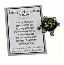Ganz Lucky Little Turtles Charms, Set of 6 (EL6533)