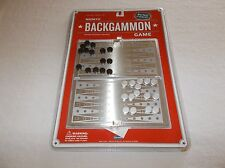 Old Navy Supply Co. deluxe portable magnetic Backgammon board game NIB