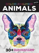 Color-by-Number: Animals: 30+ fun & relaxing color-by-number projects to engage