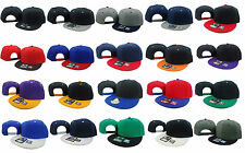 Flat Bill Snapback WHOLESALE LOT 20 Vintage Hats Caps Different Colors WHOLESALE
