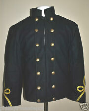 Officers Double Breasted Shell Jacket w/Gold Braided Sleeves (Even Sizes 34-50)