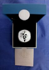 "2012 Cook Is Silver Proof $1 coin ""Jubilee - Royal Ascot"" in Case / COA  (Y3/78)"