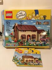 LEGO 71006 The Simpsons House - Box & Instruction Booklets Only (No Pieces)