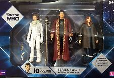 Doctor Who Series 4 Action Figure Set River Song, Donna Noble and The Narrator