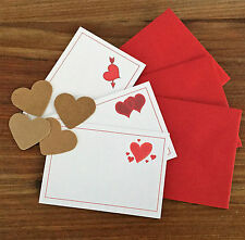 LOVE NOTES & Matching Envelopes, perfect for romantic treasure hunt!
