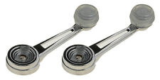 NEW LatchWell Window Crank Handle PAIR Clear Knob / FITS LISTED FORD MODELS