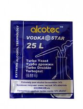 Alcotec Vodka Star Turbo Yeast, Extra pure alcohol wash