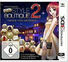 New Style Boutique 2 - Fashion Forward (Nintendo 3DS, 2015,---------