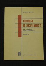 Anticomunismo Religione Uomini o scimmie? La religione dei comunisti 1954