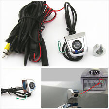 Autos License Screw Mini Car Rear View Reverse Parking 170° Wide Angle HD Camera