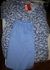 DENICE SIZE XL BLUE SCRUB TOP AND PANTS NICE LOOKING OUTFIT; NEW