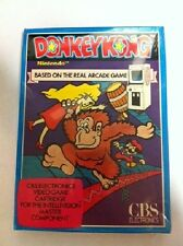 NEW FACTORY SEALED DONKEY KONG GAME FOR INTELLIVISION RARE CBS WITH GIRL IN HAND
