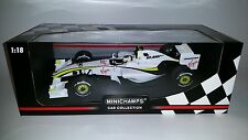 Minichamps F1 Brawn GP BGP 001 2009 Rubens Barrichello 1/18