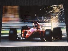Ivan Capelli f1 firmato signed autograph autografo foto 20x30 * TOP *