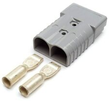 GRO84-9631 Grote Booster Cable Replacement Plug-In Ends, 6 GA.,50 Amp, Grey