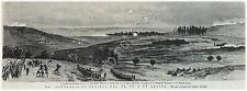 Incisione - Engraving - Campo di Battaglia di Kara-Hassan-Koi - 1877