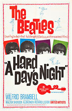 BEATLES A HARD DAY'S NIGHT MANIFESTO JOHN LENNON PAUL MCCARTNEY RINGO STARR
