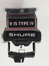 True Vintage SHURE V15 TYPE IV CARTRIDGE AND GENUINE VN45HE STYLUS