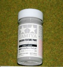 Tamiya DIORAMA TEXTURE PAINT PAVEMENT EFFECT LIGHT GRAY Accessories 87116