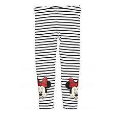 Girls Kids Children Warm Cotton Leggings Cartoon Minnie Pants Trousers For 2-7Y