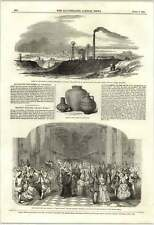 1853 Colliery Explosion At Wigan Roman Farces Found At Woolwich
