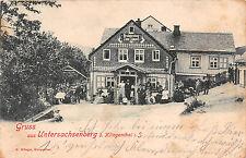Untersachsenberg bei Klingenthal Sachsen Restaurant Zum Lämpel 1900