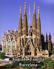 Spain - BARCELONA - SAGRADA FAMILIA - Travel Souvenir Flexible Fridge Magnet