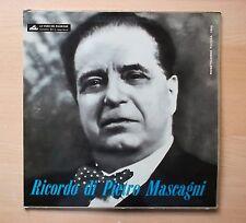 RICORDO DI PIETRO MASCAGNI LP 1960