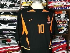 HOLLAND away 2002/04 shirt KLUIVERT #10 Ajax-Barcelona-Milan-Netherlands-Jersey