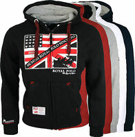Geographical Norway Herren Sweat Jacke Hoodie Pullover Sweatshirt NEU Fitsh