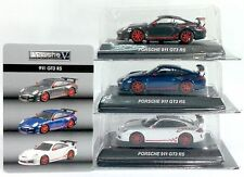 KYOSHO 1/64 Porsche Mini Car Collection V 911 GT3 RS 3 pcs *FREE SHIPPING