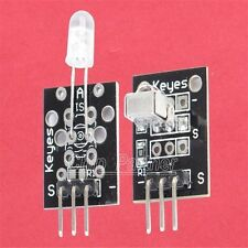 Infrared Receiver Transmitter + Remote Control Module for Arduino With Diodes