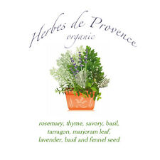 Herbes de Provence tin organic French premium cooking spice fine herb w lavender