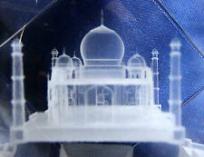Tajmahal Symbol Of Love Personalized 3D Crystal Cube High End Laser Engraved