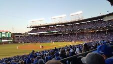 2 Chicago Cubs vs Tampa Bay Rays Tickets 6/21/2017 Wrigley Field