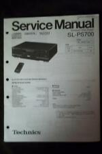 Technics Service Manual for the SL-PS700 CD Changer Player