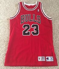 100% Authentic Michael Jordan Chicago Bulls Pro Cut Jersey Sz 46 + 3