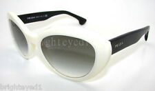 Authentic PRADA Ivory Cat Eye Sunglasses PR 15Q 15QS - 7S31E0  *NEW*