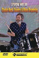 Levon Helm Teaches Classic Rock, Country & Blues Drumming (2005, DVD New)