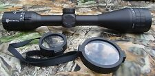 Nikko Stirling Panamax 4.5-14x50 Wide FOV Half Mil Dot Rifle Scope NPW451450AO